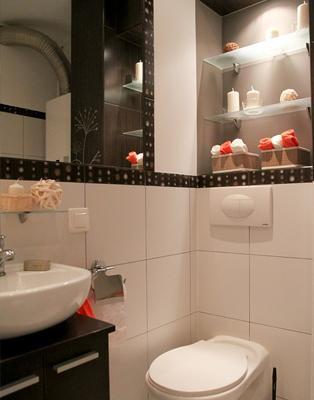 Półki / wieszaki łazienkowe