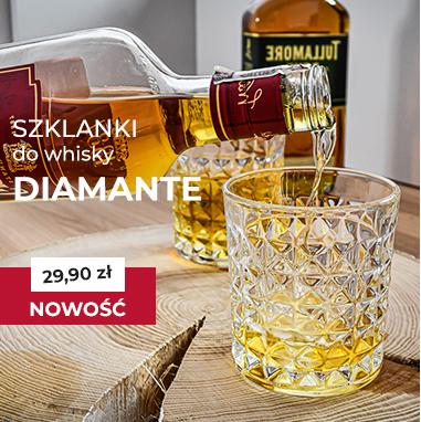 Szklanki do whisky Bohemia Quadro